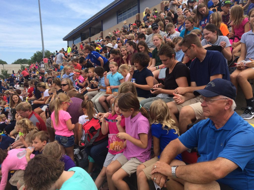 (Audio) St. Paul Lutheran School Students Enjoy Eclipse In Seward