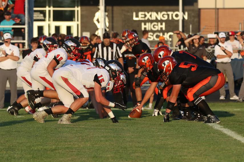 LEXINGTON FALLS IN SEASON OPENER