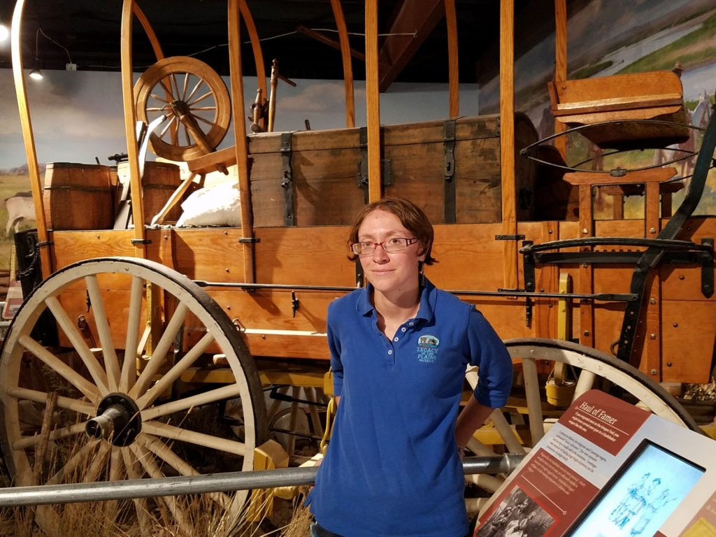"Legacy of the Plains Museum Director has a ""love for the panhandle and its history"""