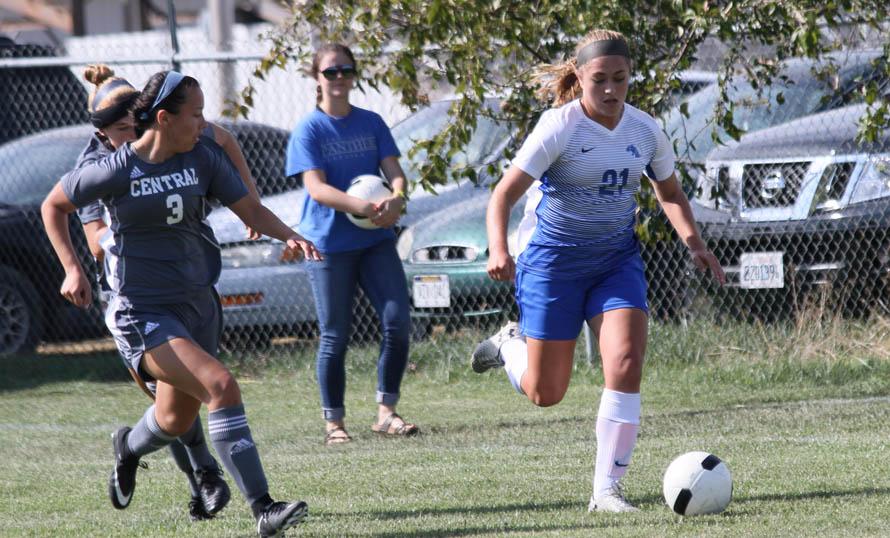 York Women's Soccer picks up win over Central Christian