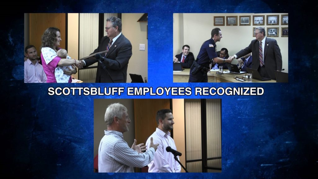 Scottsbluff city employees recognized for achievements