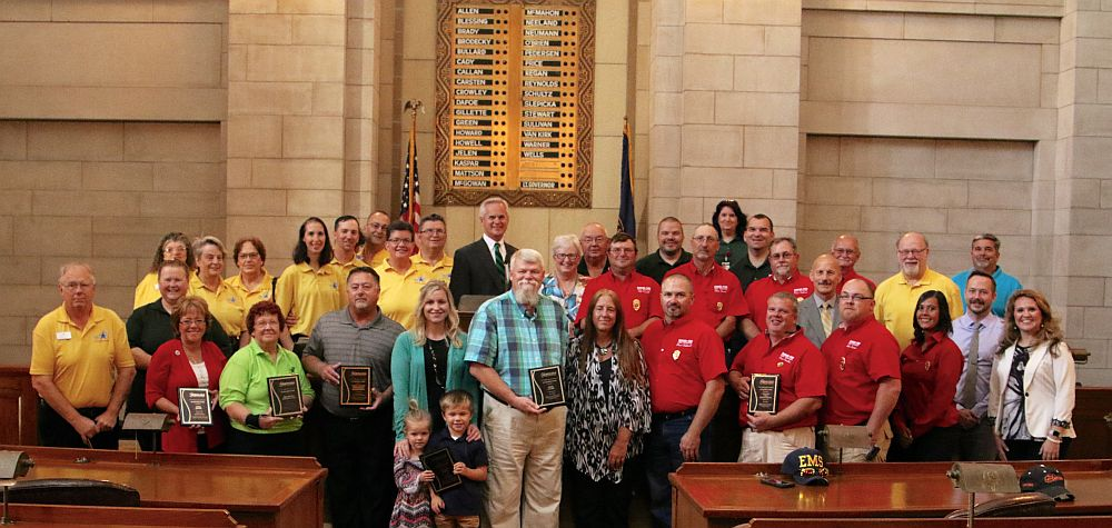 Lt. Governor Recognizes Volunteers and Communities with Be Prepared Awards