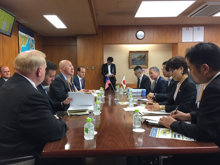 Japan Tells Gov Ricketts They Are Interested in Multi-Nation Trade Agreement
