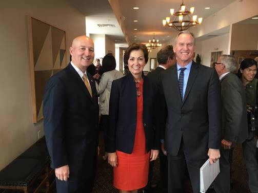 Gov. Ricketts Attends 15th Tri-State Governors' Conference