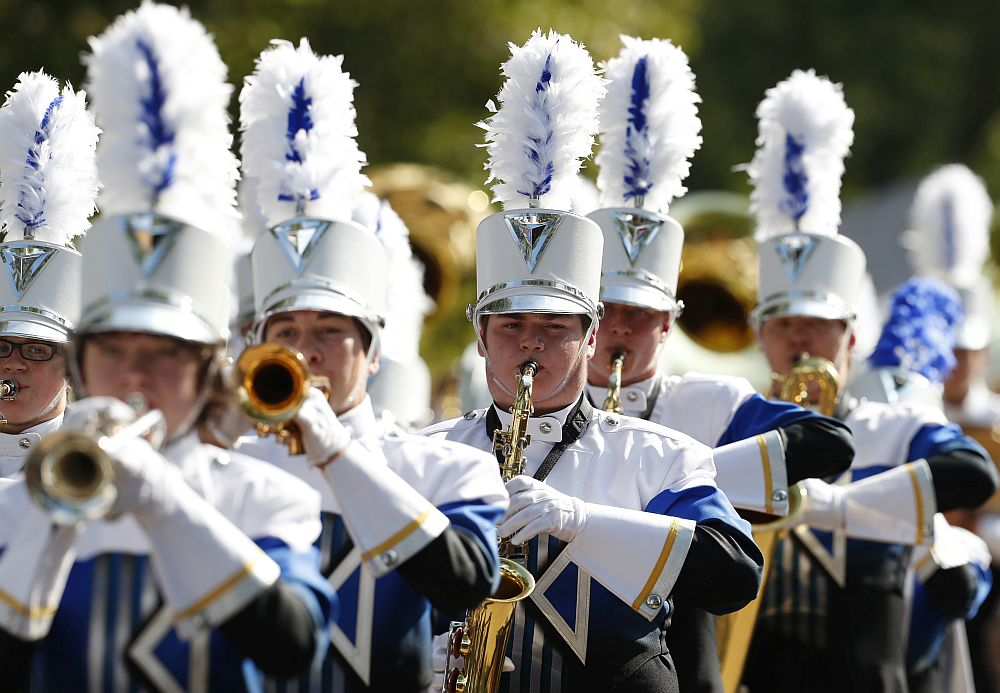 Kearney High is UNK Band Day's top parade performer