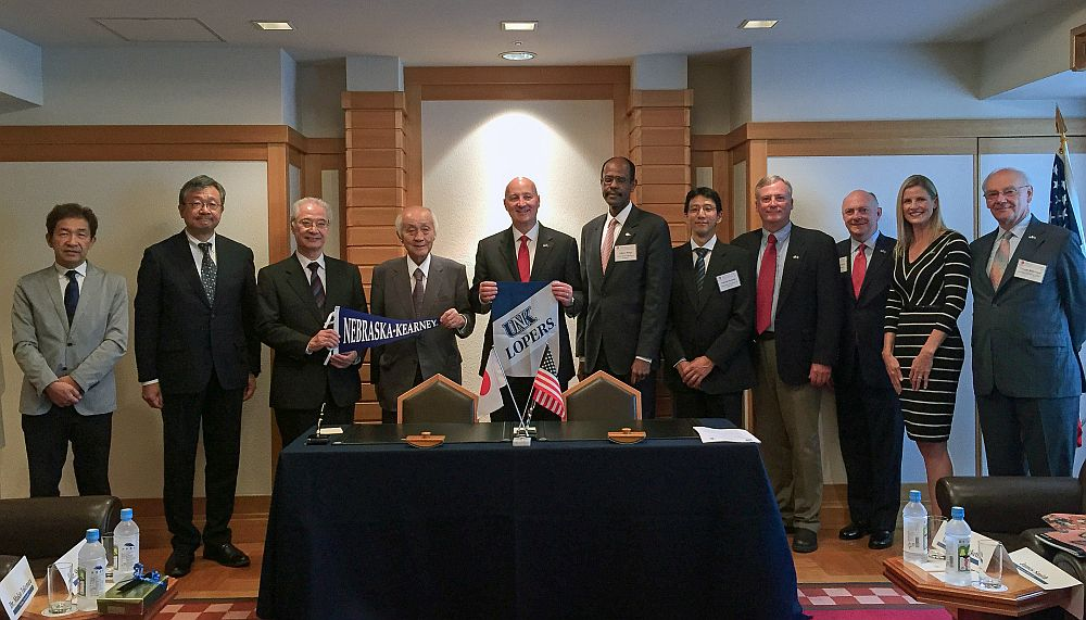 Toyo University agreement another UNK, Japanese success story