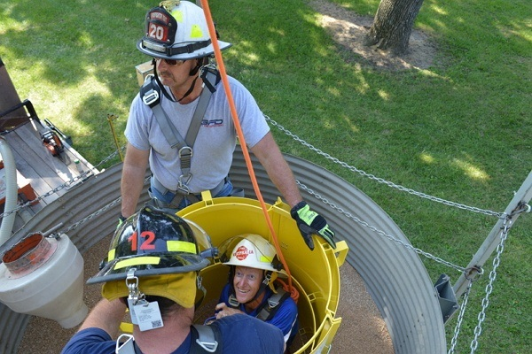 Fire Department Saves Life After Winning Grain Rescue Tube and Training