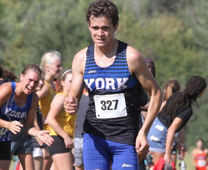 York College cross country runner receives weekly award