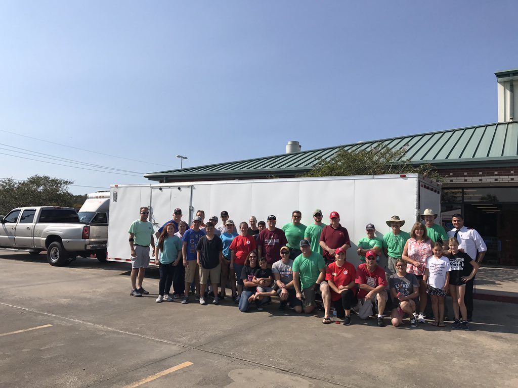 Volunteers Dish Out 7,000+ Meals for Hurricane Relief
