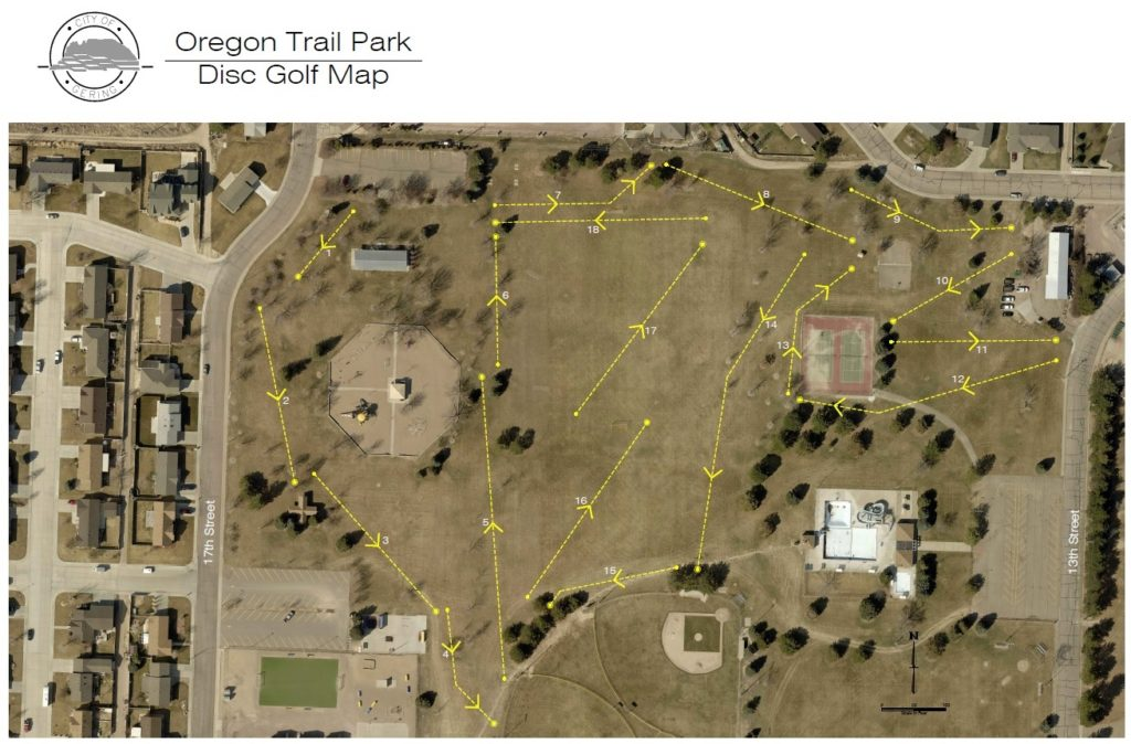 Gering Council to consider Disc Golf Course proposal