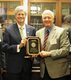 Representative Jeff Fortenberry Receives Golden Triangle Award From Farmers Union