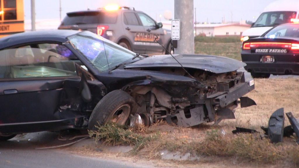 Scottsbluff woman injured in Friday morning crash