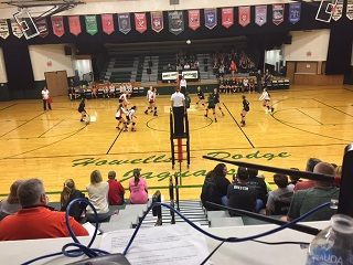 (AUDIO) Howells-Dodge sweeps Oakland-Craig in High School Volleyball