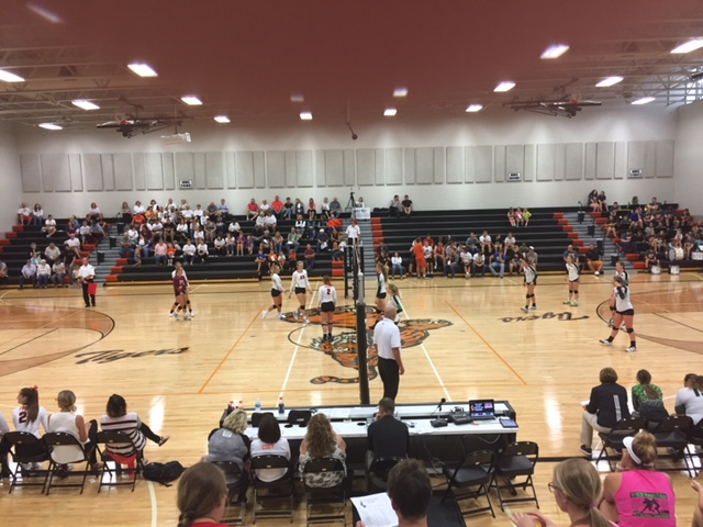 (AUDIO) North Bend Central sweeps Wisner-Pilger in High School Volleyball