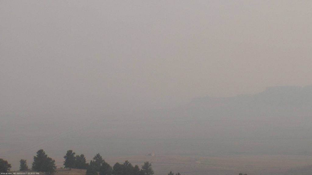 "Smoke from wildfires in northwest causing ""unhealthy"" air locally"