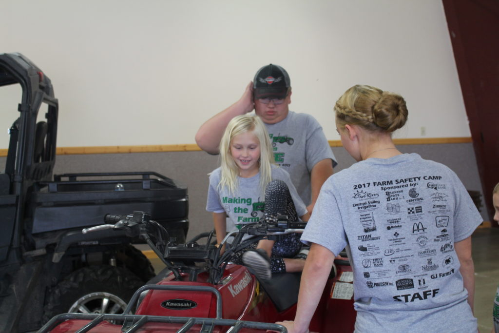 Holdrege FFA Chapter Sponsors Farm Safety Camp