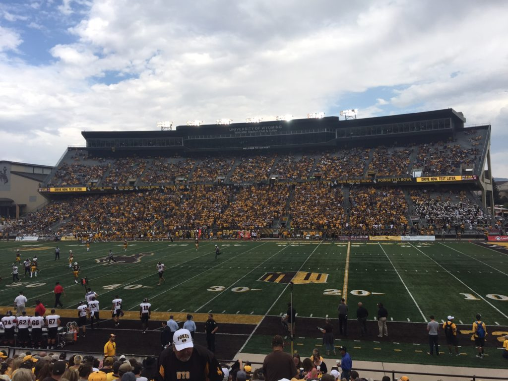 Laramie Police say alcohol sales at UW game didn't cause additional issues