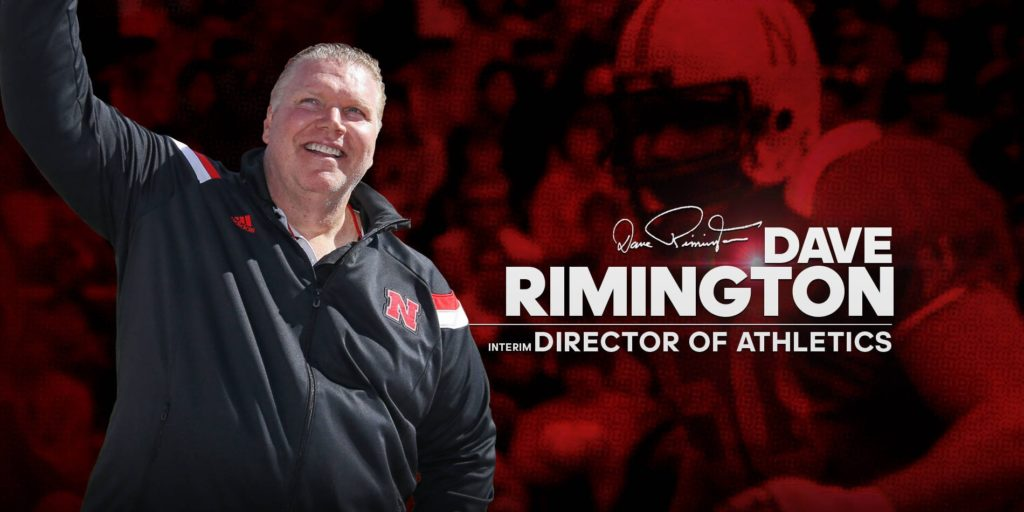 (VIDEO) Rimington named Interim AD at Nebraska