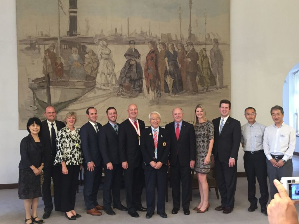 Gov. Ricketts Concludes Successful International Trade Mission to Japan