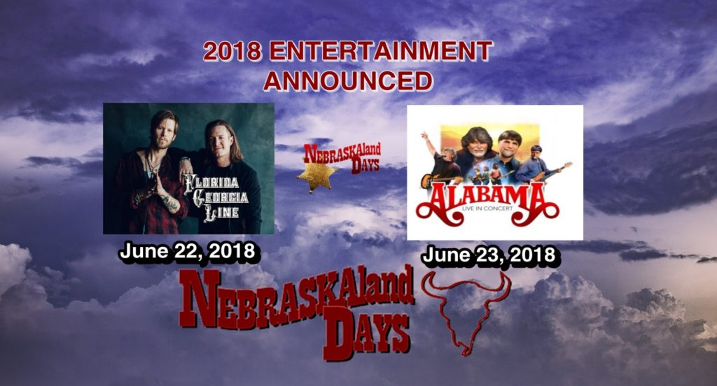 NEBRASKAland Days 2018 Entertainment Announced