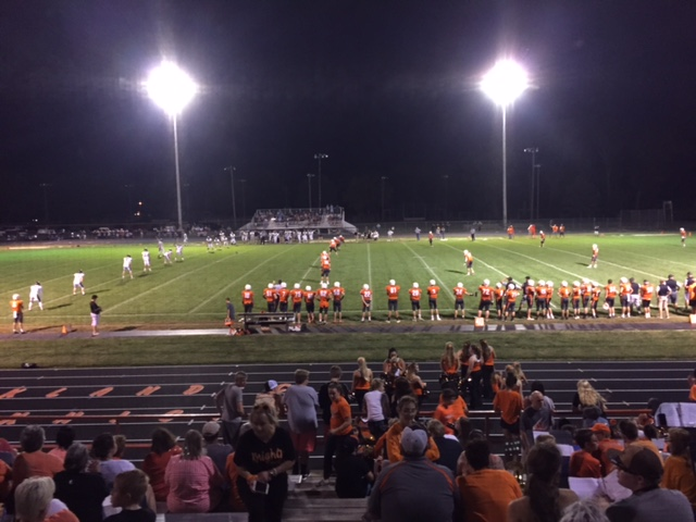 (AUDIO) Oakland-Craig Football Team rebounds from Ponca loss in win over BRLD