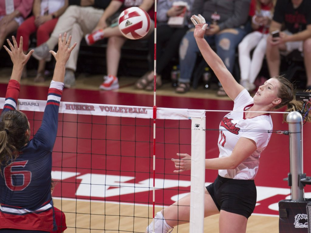 Panthers snaps Husker volleyball win streak