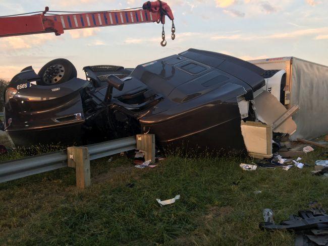 Fatal semi crash on I-80 near Utica