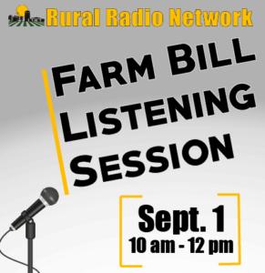 State Fair Farm Bill Listening Session Draws Considerable Input