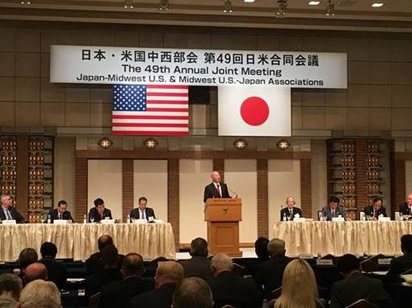 Gov. Ricketts Kicks Off First Day of Nebraska Trade Mission to Japan