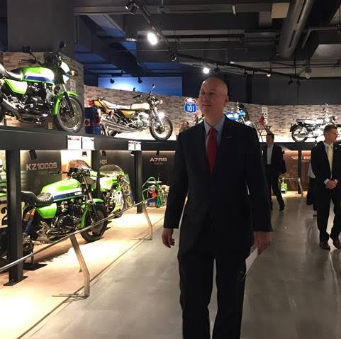 Ricketts visits Japanese manufacturers on final day of trade mission