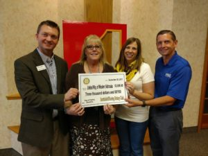 Scottsbluff/Gering Rotary Club presents $3,000 donation to United Way of Western Nebraska