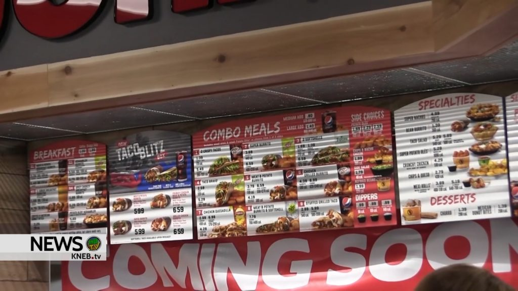 Bridgeport Taco John's open for business