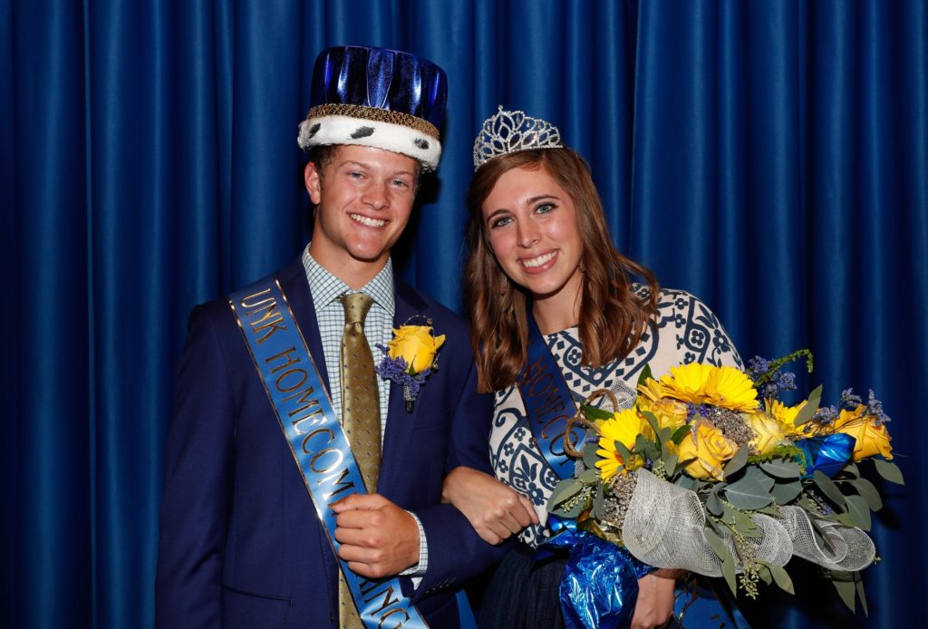 UNK king, queen reign from Aurora, Petersburg