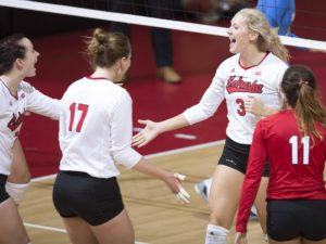 Huskers Sweep Omaha to Finish Non-Conference Play