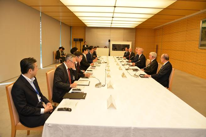 *Audio* Gov. Ricketts, Prime Minister Abe of Japan Meet in Tokyo