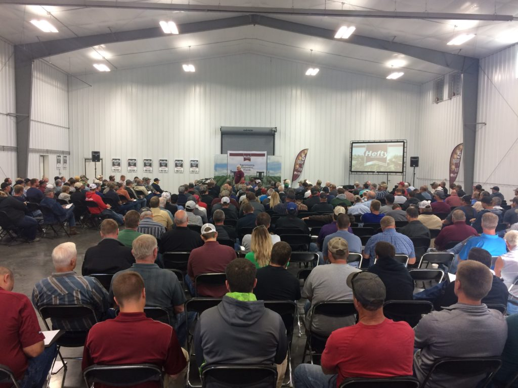 Nice Turnout For High Yield Meeting At Hefty Seed