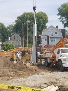 Work Progresses At American Veterans Park