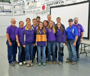 K-State Soil Judging Team takes regional honors, qualifies for nationals
