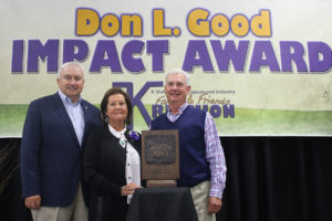 Former State Rep Schwartz receives Don L. Good Impact Award