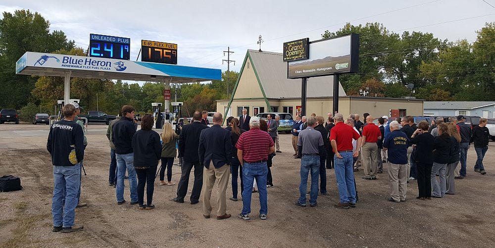 (Audio) McDiarmids Open Flex Fuel Station in Gothenburg