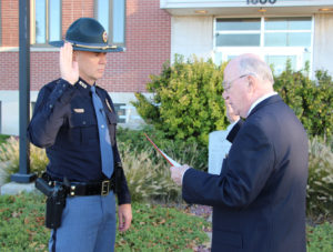 Bolduc sworn in as new NSP Superintendent