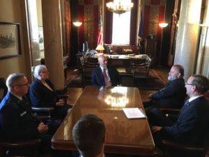 Gov. Ricketts Hosts Czech Republic Ambassador to the United States