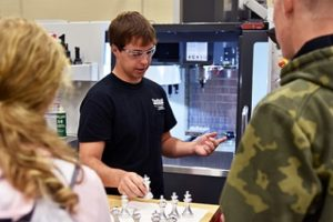 High school students from four states attend Northeast's applied technology career day