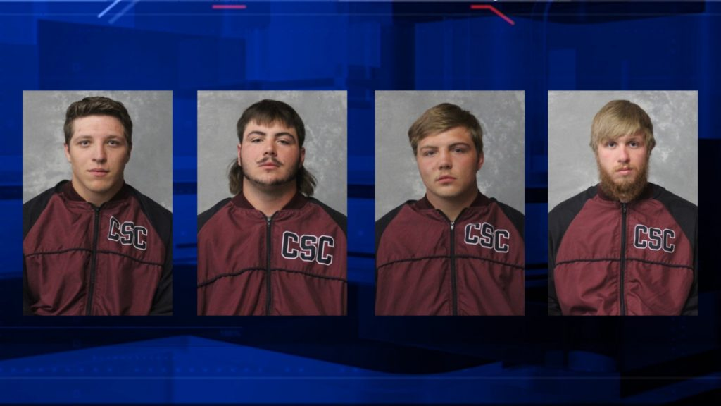Former CSC wrestlers arrested on hazing charges