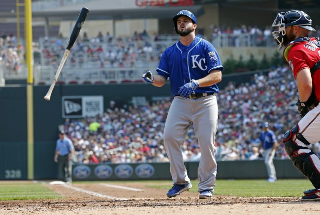 Moustakas named AL comeback player of the year