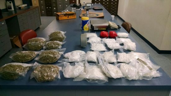 Troopers Seize 20 lbs of Meth, 4.5 lbs of Marijuana in I-80 Stop
