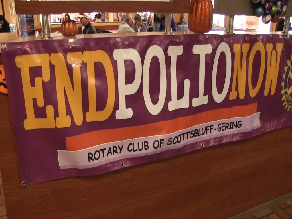 Rotary Club and Arby's team up to help end Polio