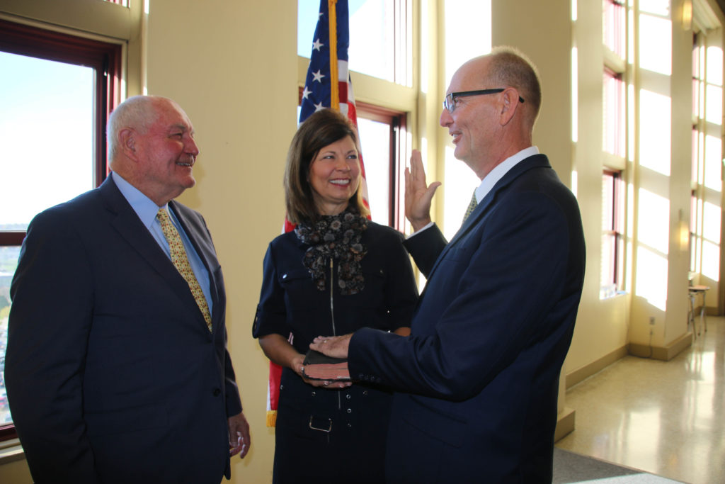 (Video) Ibach Sworn-In as USDA Under Secretary