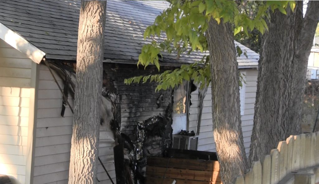 Friday morning house fire causes damage; no injuries