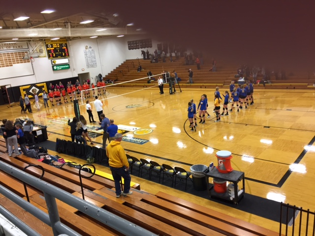 (AUDIO) West Point-Beemer and Arlington advance in C1-4 Volleyball Sub-District Tournament
